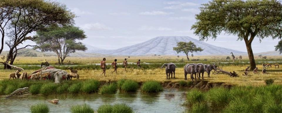 AFRICA FA 2 MILIONS D'ANS