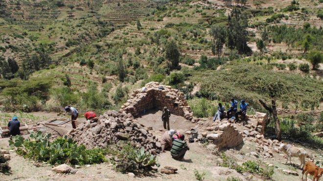 DESCOBÈRTA D'UNA VILA MEDIEVALA EN ETIOPIA