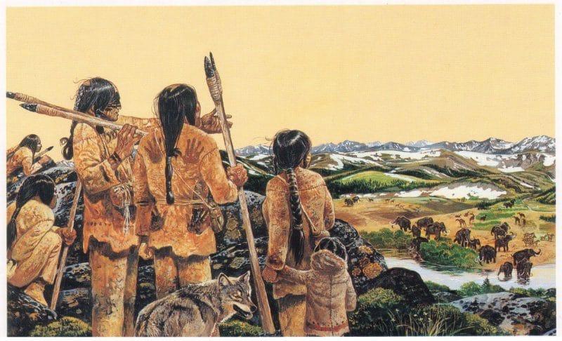 De ponchas de lança d'abans la cultura Clovis